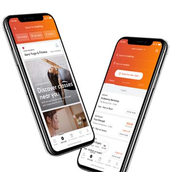 Monthly unlimited payments on MindBody App