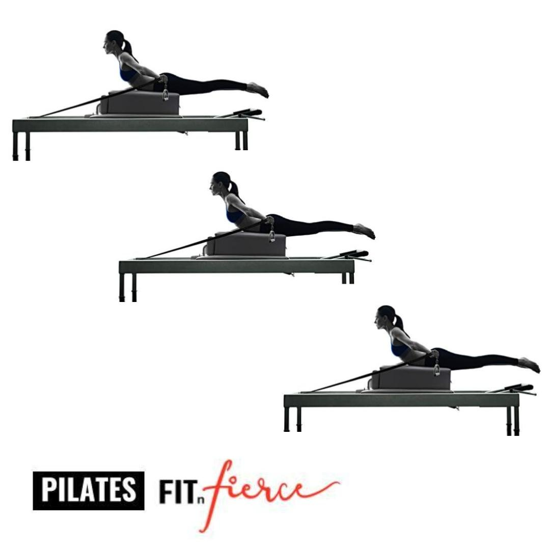 Pilates Reformer class at Fit n Fierce fitness studio in central Hong Kong